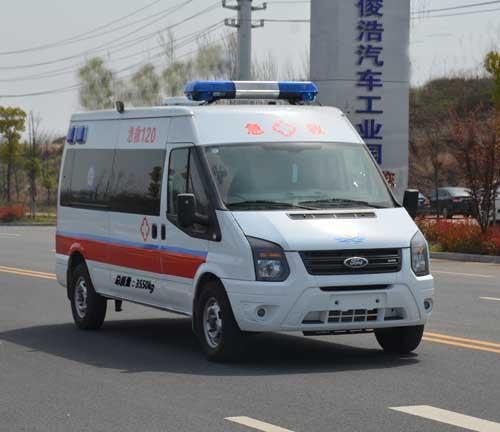 江铃全顺短轴救护车15271321777