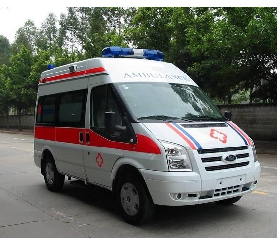 V348长(短)轴中顶监护型救护车