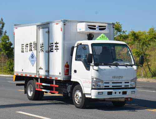 JHW5040XYYQ型医疗废物转运车1