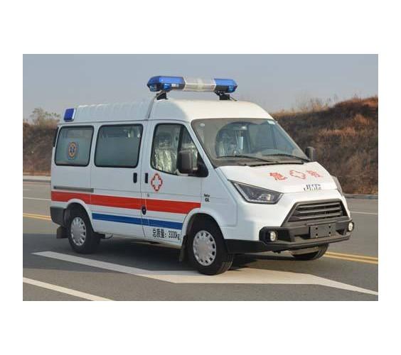 江铃特顺短轴监护型救护车厂家报价