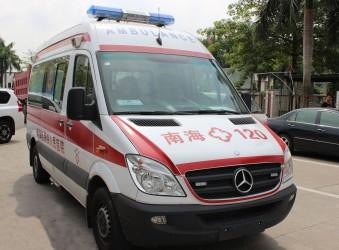 奔驰威霆改装订制高级监护型救护车