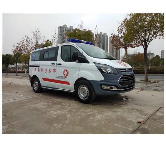 福特全顺V362自动档救护车