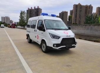 国六江铃特顺救护车开始接受订单啦!