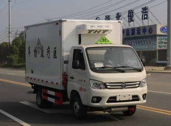 国六医废车-福田驭菱医疗垃圾转运车