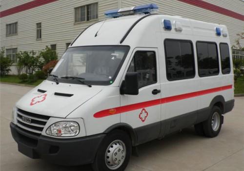 依维柯宝迪A37监护型救护车