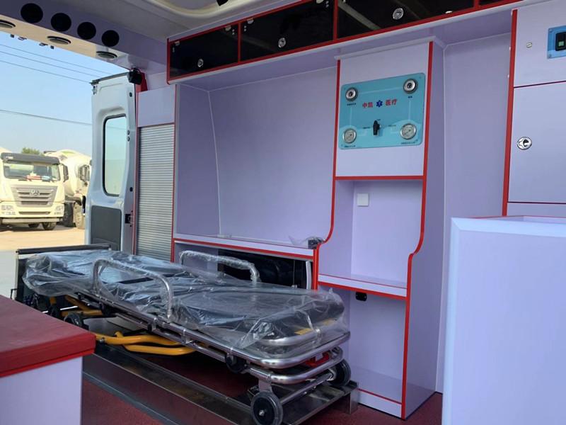 依维柯欧胜救护车 救护车厂家销售15271321777