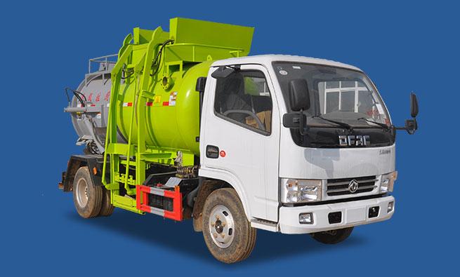 东风D6小型餐厨垃圾车