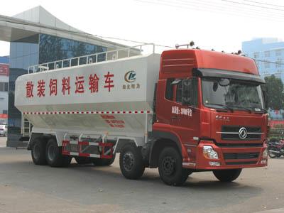 东风20散装饲料运输车