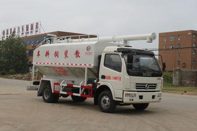 东风5到6吨散装饲料运输车